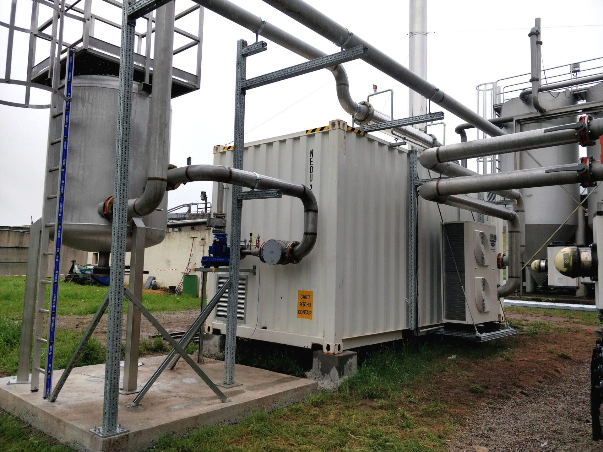 Container biogaz