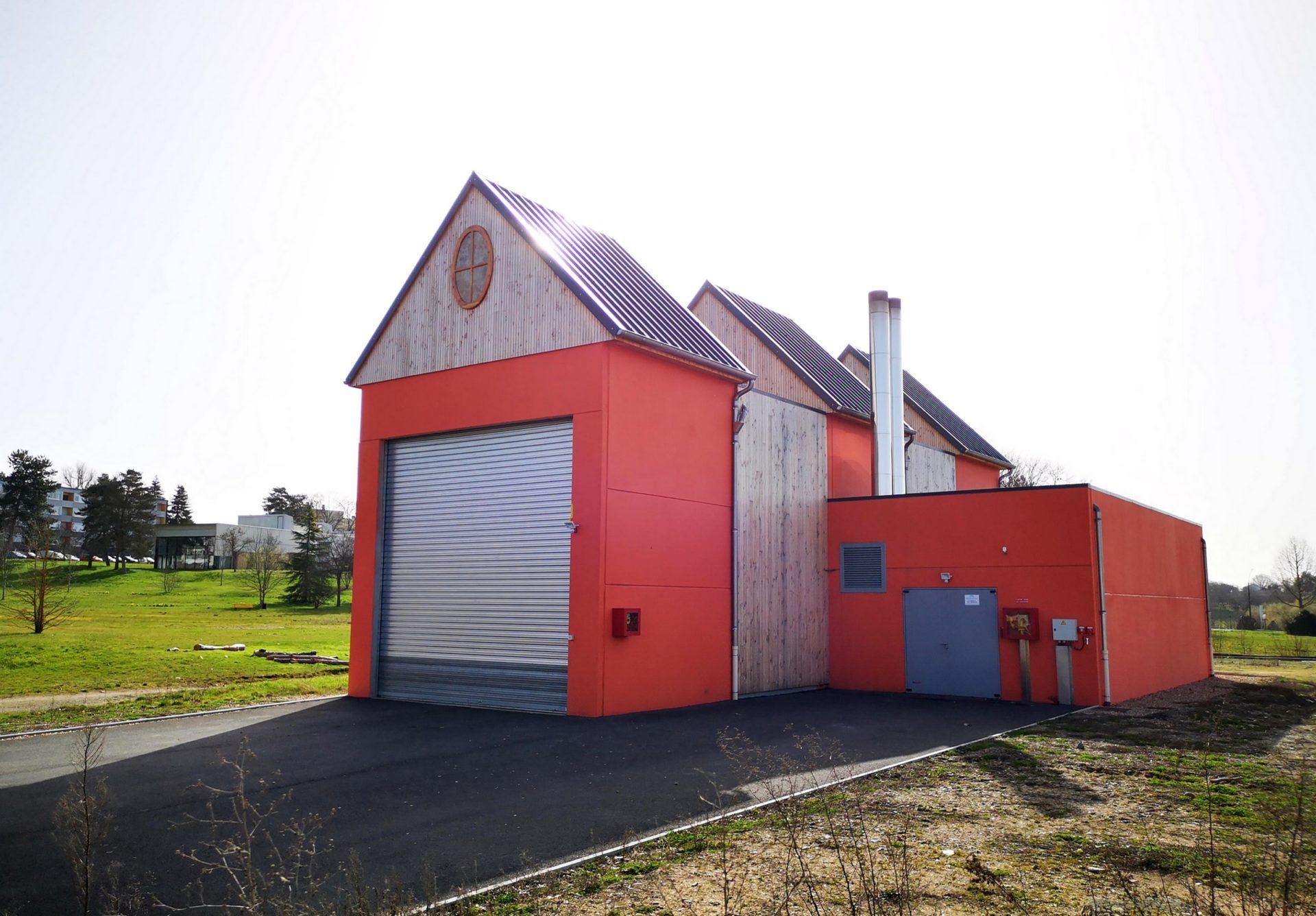 Chaufferie Biomasse et Réseau de chaleur en Saône-et-Loire